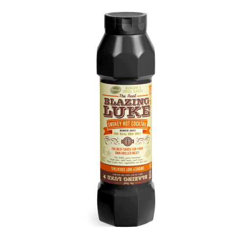 BLAZIN' LUKE / SMOKEY HOT COCKTAIL (X15) 800ML REMIA