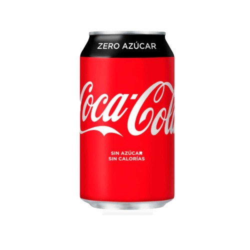 COCA COLA ZERO BLIK 33CL (X24)