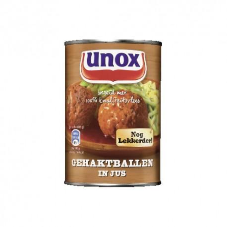 GEHAKTBALLEN IN JUS (X8) 420GR UNOX