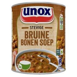 STEVIGE BRUINE BONENSOEP (X12) 800ML UNOX