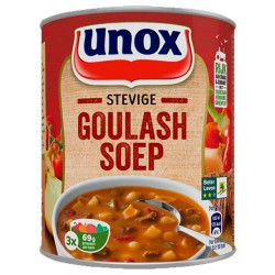 STEVIGE GOULASHSOEP (X12) 800ML UNOX