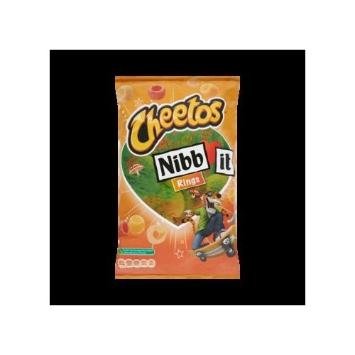 NIBB-IT RINGS (X9) 110GR CHEETOS