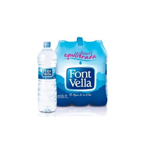 FONT VELLA WATER 1.5 LTR (X6)