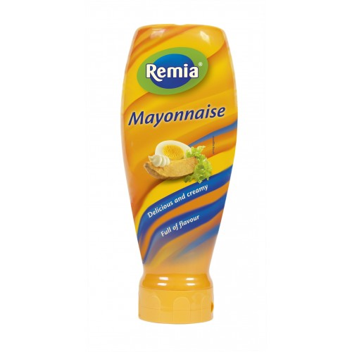 MAYONAISE TOPDOWN (X10) 500ML REMIA