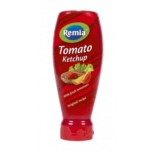 TOMATE KETCHUP TOPDOWN 500ML REMIA